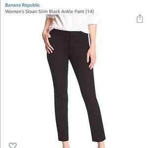 New Banana republic Sloan Pants